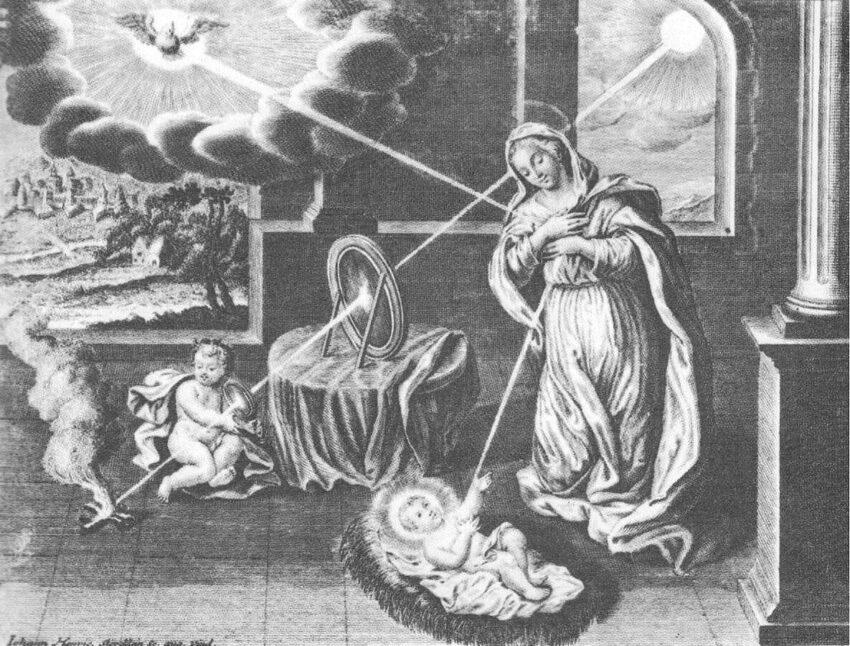 La Vergine e il sale filosofico degli alchimisti